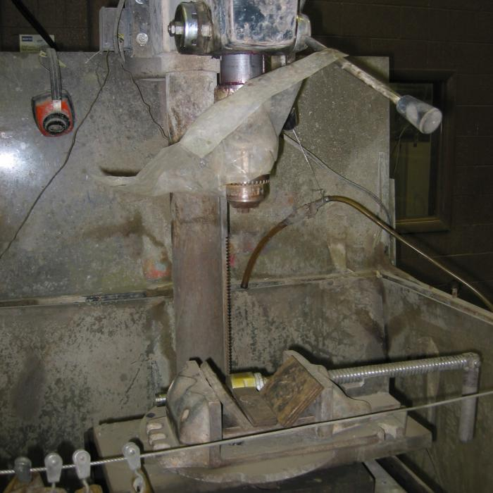 Core Plug Drill Press